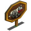 Bow Wolf Mastery Sign-icon