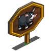 Berkshire Pig Mastery Sign-icon