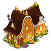 Candy Corn House-icon