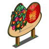 Chinese Lantern Tree Mastery Sign-icon