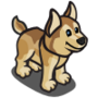 Husky Puppy Brown-icon