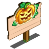 Jack O Lantern Lights Mastery Sign-icon