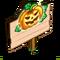 Jack O Lantern Lights Mastery Sign-icon