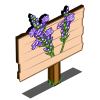 Lavender Flowers Mastery Sign-icon