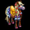 Muertos Carnival Horse-icon