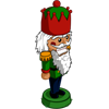 Winter green nutcracker-icon