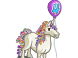 4th Birthday Bedazzled Horse
