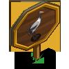 Black Neck Crane Mastery Sign-icon