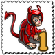 Devils Monkey Stamp-icon