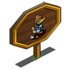 Golfer Duck Mastery Sign-icon