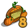 Pumpkin Sign-icon