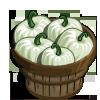 White Pumpkins Bushel-icon