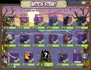Witch Stew Day 16