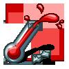 Broken Thermometer-icon