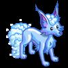 Cloudy Snow Fox-icon