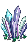 Crystal Flowerbed-icon