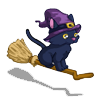 Flying Witch Cat-icon