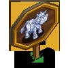 Diamond Cow Mastery Sign-icon