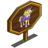 Goldilocks Unicorn Mastery Sign-icon