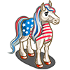 Stars and Stripes Horse-icon