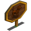 Chocolate Lab Mastery Sign-icon