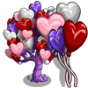 Giant Heart Balloon Tree-icon