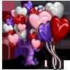 Giant Heart Balloon Tree-icon
