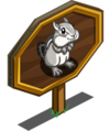 Gray Chipmunk Mastery Sign-icon