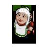 Winter mrs. claus gnome-icon