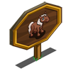 Boer Pony Foal Mastery Sign-icon