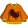 Orange Turkey Sweater-icon