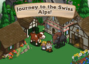 Swiss Alps Loading Screen
