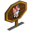 4th Birthday Pegacorn Mastery Sign-icon