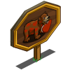 Be Mine Bear Mastery Sign-icon