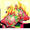 Fiery Dragon Fruit-icon
