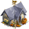 Halloween Cottage-icon