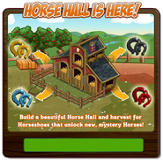 Horse Hall Notice