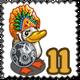 Tikal Warrior Duck Stamp-icon