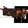 Pferd mit Pflug-icon