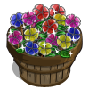 Stained Glass Pansy Bushel-icon