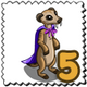 Vicious Meerkat Stamp-icon