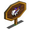 White Witch Cat Mastery Sign-icon