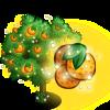 Giant Magic Orange Tree-icon