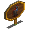 Ice Diamond Horse Mastery Sign-icon