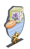 Iris Soap 1 Star Mastery Sign-icon