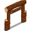 Log Welcome Sign-icon