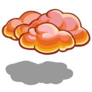 Sunset Cloud-icon