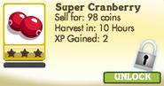 Super Cranberry Locked