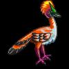 Tangerine Plume Bird-icon
