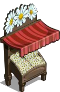 White Asters Stall-icon